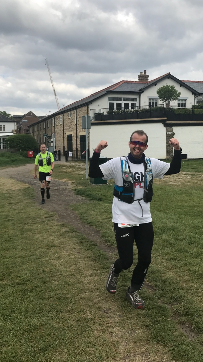 Gregor during Thames Path 100 miles