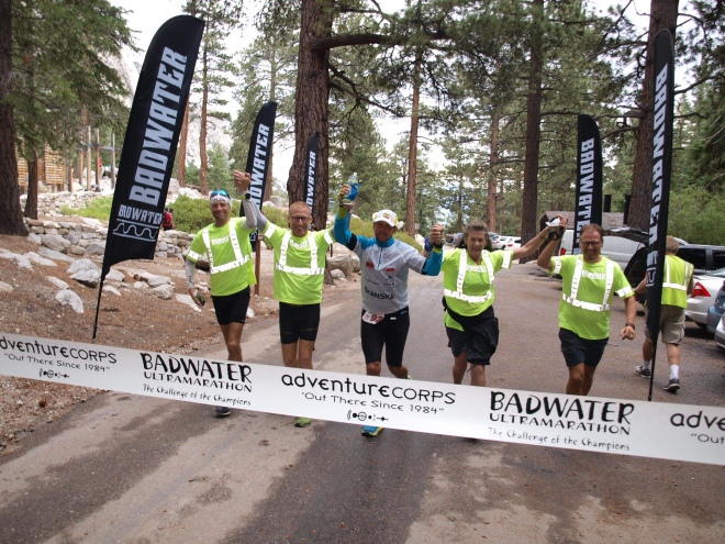 Gregor Guzwa BIB 92 finished Badwater 135